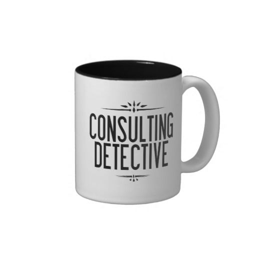 The World's Only Consulting Detective Mug