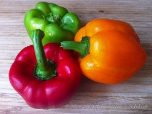 Cut Bell Peppers with Less Waste