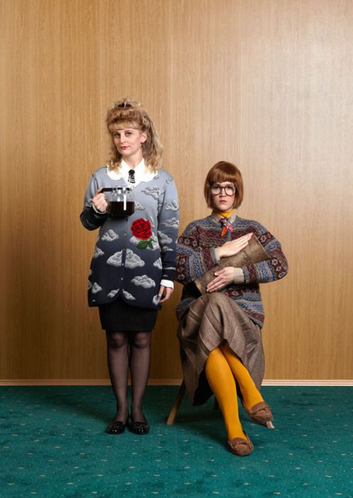 Log Lady from Twin Peaks | 18 Fantastic Halloween Costume Ideas For '90s Girls
