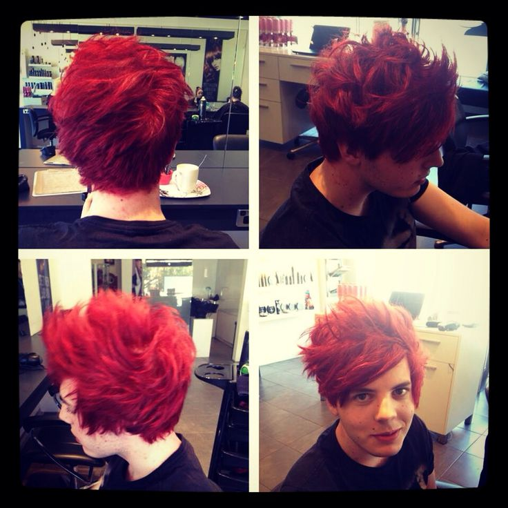 Red hair by Mhs