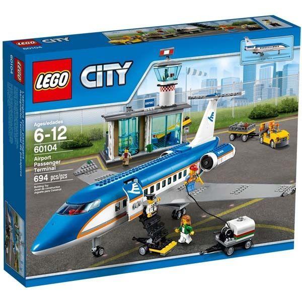 LEGO CITY 60104 Airport Passenger Terminal, Brand New #LEGO