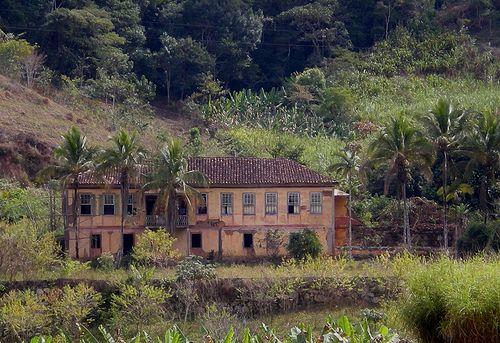 Antiga fazenda de café em Minas Gerais
