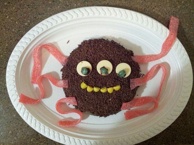Monster cake - felix's 1st