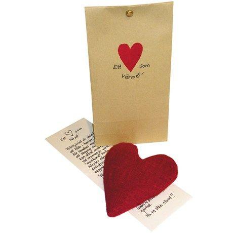 Minivetevärmare - Ett hjärta som värmer   Bluebox.se
