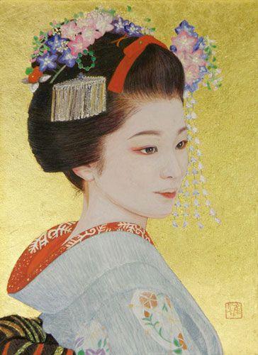 日本画Japanesepainting : 黒川雅子のデッサン BLOG版 ( Masako Kurokawa)