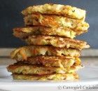 Chayote and Carrot Patties