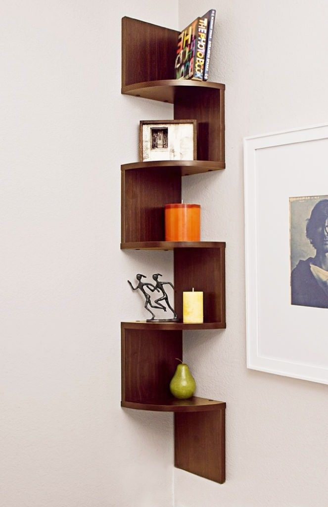 the wonderful of zig zag corner shelf types for your home on wall types id=30210