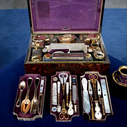 Silver Gilt & Mother of Pearl Travel Box, ca. 1840 | Roadshow Archive | PBS