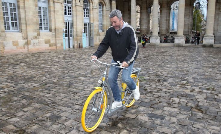 the first twenty pibal bicycles by philippe starck arrive in france - designboom | architecture
