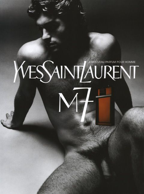 Yves Saint Laurent - M7 fragrance ad featuring French Olympic Kick Boxing Champion Samuel de  Cubber Directed and createdby Tom Ford Campaign launched in 2002