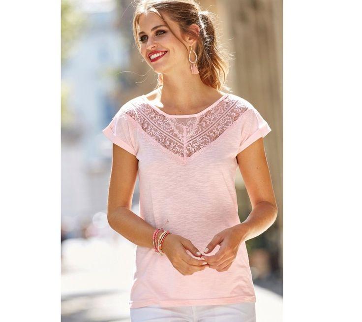 Tričko s čipkou | modino.sk #ModinoSK #modino_sk #modino_style #style #fashion #summer #bestseller