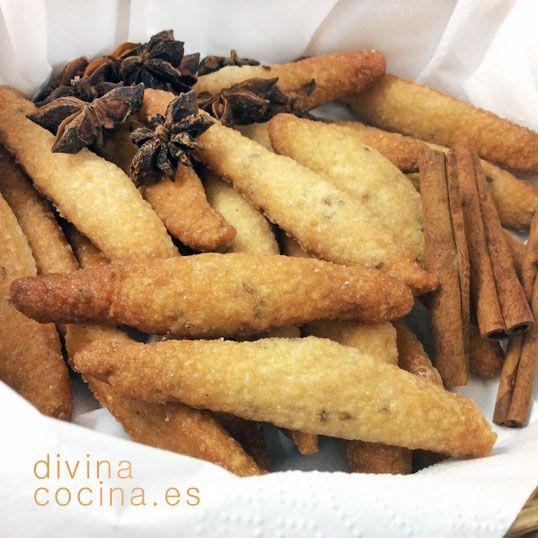 Palitos de anís y canela » Divina CocinaRecetas fáciles, cocina andaluza y del mundo. » Divina Cocina