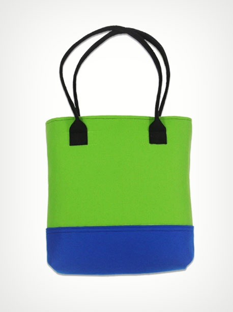 filcowa torba green