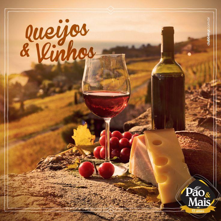 Harmonização entre queijos e vinhos: a perfeita combinação gastronômica.