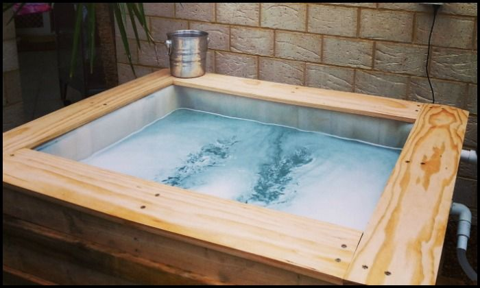 IBC Pallet Above Ground Plunge Pool Main Image