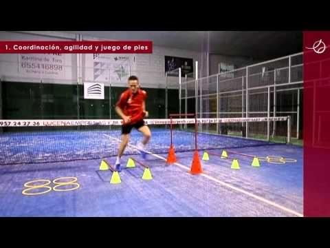 PÁDEL - JUEGO DE PIES - Coordinación y agilidad 02 - YouTube