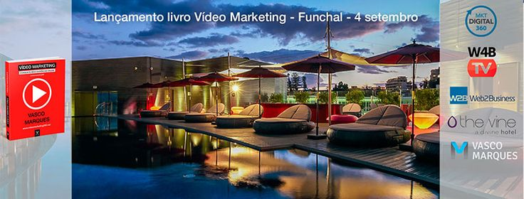 Lançamento livro Vídeo Marketing no Funchal! #videomarketing360