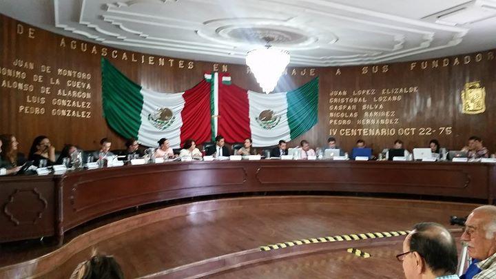Nuevamente se sube como punto de acuerdo que el Municipio de Aguascalientes firme el Aval de Carta de la Tierra esperamos que en esta ocasión los regidores ya conozcan el contenido del documento.