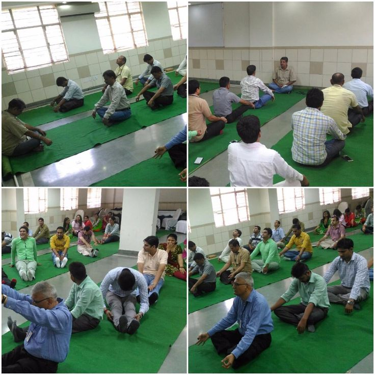 """#KIIT #Gurgaon conduced """"Silence Session"""" that helps #employees to relieve from stress & inner tensions as well as neck exercises to make neck muscles strong."""