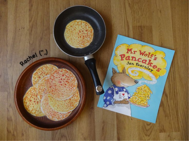 "Activities linked to the book, Mr Wolf's Pancakes... from Stimulating Learning with Rachel ("",)"