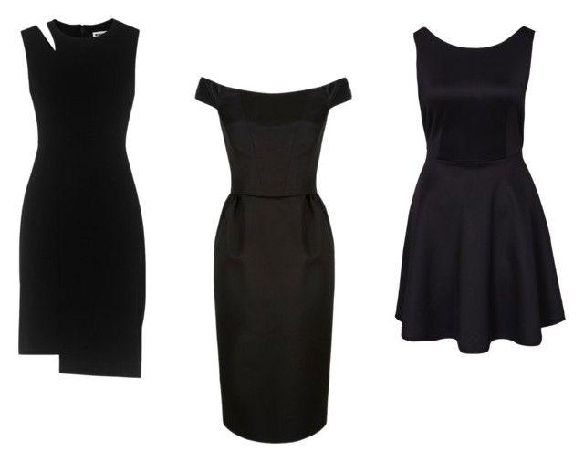 """czarna sukienka"" by izabelamisztal on Polyvore featuring moda i Whistles"