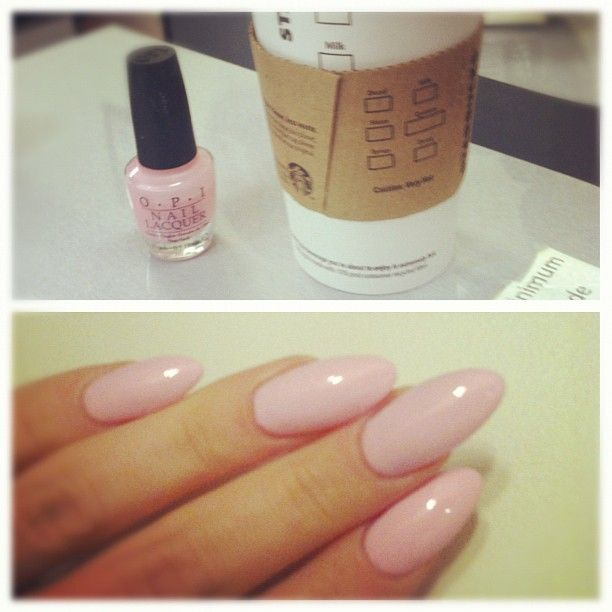 OPI 'pink-ing of you'   Photo by regina404....I really like her nail shape!