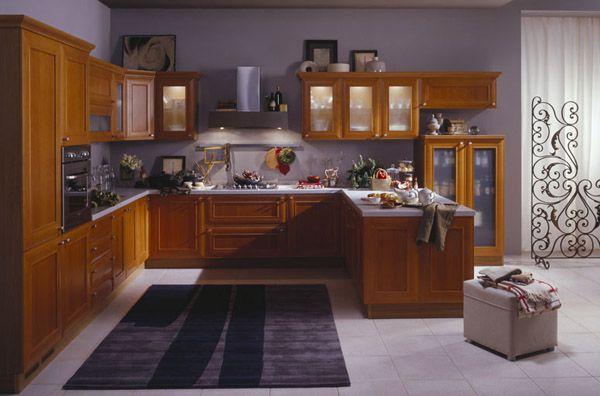 kitchen peninsula ideas   kitchen with peninsula, L-shaped kitchen design with wood kitchen ...