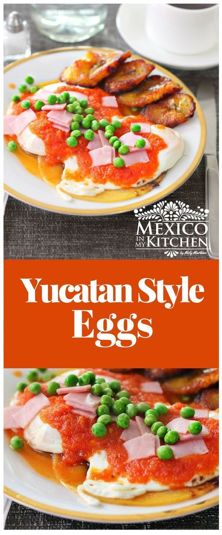 This recipe is based on the Traditional eggs made in the picturesque small town of Motul in the State of Yucatán. #recipe #mexican #food #breakfast