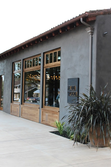 Redd Wood Pizza, Yountville, CA. Excellent thin crust pizza, handmade pasta and house-made cured meats.