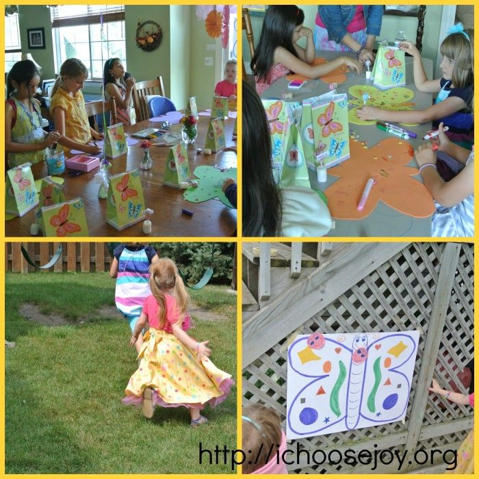 Tea Party Games and Crafts Ideas