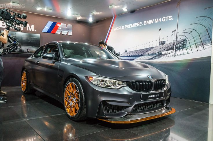 The new BMW M4 GTS makes its auto show debut today at the 2015 Tokyo Motor Show.