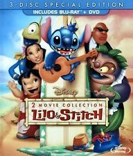 Lilo and Stitch: 2-Movie Collection Blu-ray/DVD FREE SHIP! Disney!