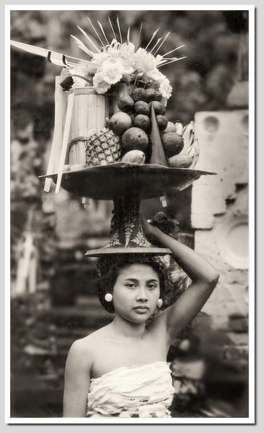 Offerings, 1930s, photographer unknown.