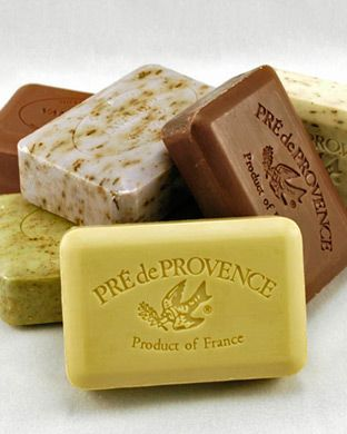 French Quad Milled Soaps.  The best!  Lasts an entire month.  #quality