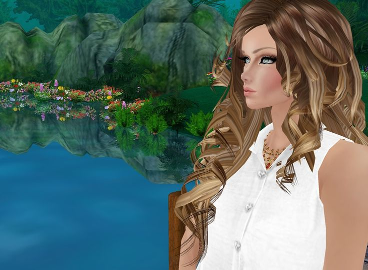Captured Inside IMVU - Join the Fun! IMVU is a fun way to get away from Real Life and be what you wished to be from movies or books.