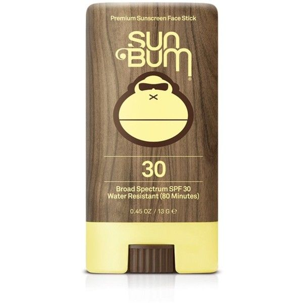 Forever21 Sun Bum SPF 30 Face Stick (133.180 IDR) ❤ liked on Polyvore featuring beauty products, bath & body products, sun care, brown and forever 21