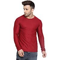 CHKOKKO Men Full Sleeve Active Wear Round Neck Regular Dry Fit Stretchable Yoga …