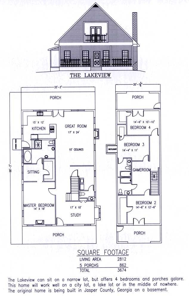 The lakeview residential steel house plans manufactured for Small residential building plan