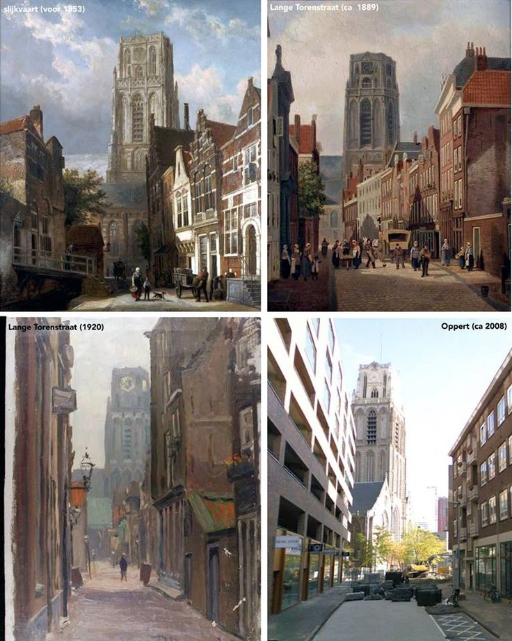 Rotterdam verandert waar je bijstaat, maar de Oppert spant misschien wel de kroon. De naam komt van een uitbreiding rond 1330: Nieuwpoort (Nieuwstad). 'In de Noppert' werd waarschijnlijk 'in den Oppert' en de belangrijkste straat in het gebied had zijn naam. Waar nu de Oppert ligt, liep voor 1853 de weinig aantrekkelijk klinkende Slijkvaart. Na de demping kreeg het de toepasselijke naam Lange Torenstraat. Na het bombardement kreeg de nieuwe straat de naam van de verdwenen Oppert.