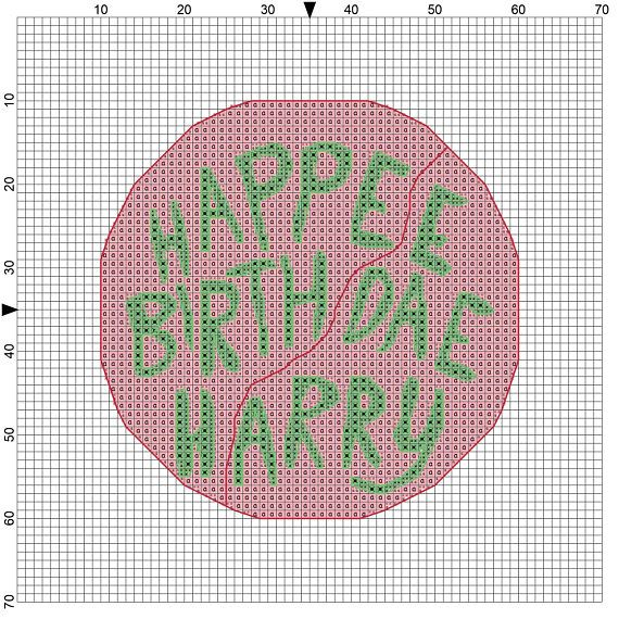 Happee Birthdae Harry  #harrypotter #crossstitch #craft #diy #embroidery #needlepoint #harry #potter #yerawizardharry #birthday #cake #novelty #movie #book #wizard #magic #hogwarts #present