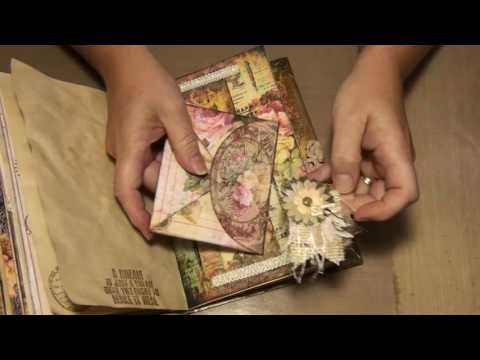Vintage Inspirational journal2 (Sold) - YouTube