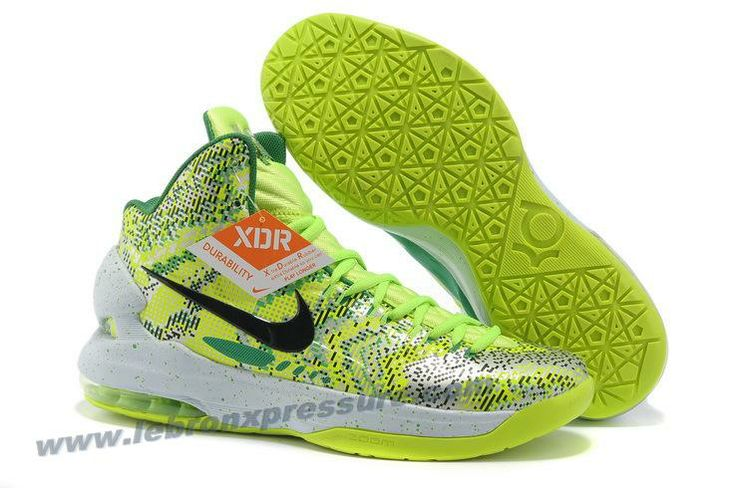 Nike Zoom KD 5 iD Offers New Graphic Pattern Christmas green Basketball Shoe  For Sale