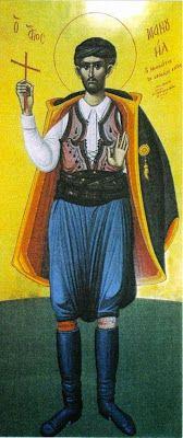 MYSTAGOGY: Holy New Martyr Manuel of Sphakia, Crete (+ 1792)