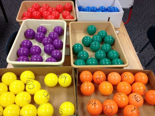 sight word basketball - fun way to incorporate movement into word work
