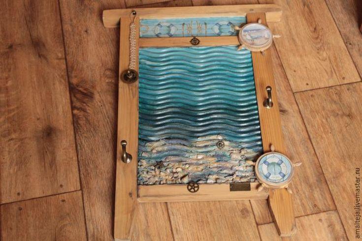 Волшебное преображение стиральной доски: создаем симпатичную вешалку в морском стиле - Ярмарка Мастеров - ручная работа, handmade