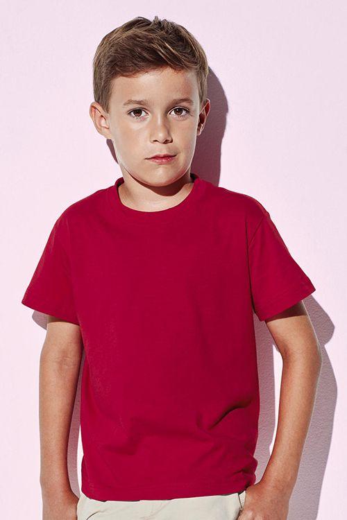 Tricou organic de copii Jamie Stedman din 100% bumbac organic cu certificat OCS, ring spun pieptănat #tricouri #organice #copii #stedman