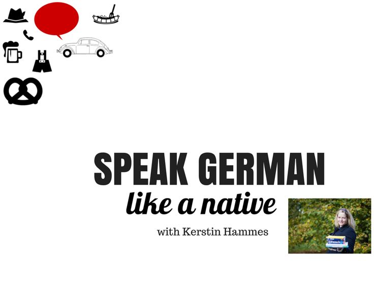 Video Course in German Pronunciation and German Accent with Accent Training