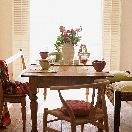 Esszimmer Wohnideen Möbel Dekoration Decoration Living Idea Interiors home dining room - Informelle Sommer-Esszimmer