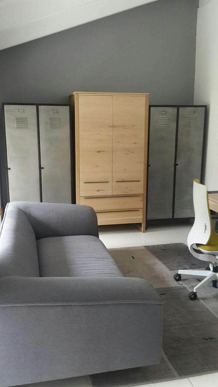 Using lockers as cupboards