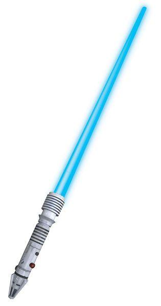 """Valomiekka; Plo Koon  Lisensoitu Star Wars tuote. Valomiekan """"laser"""" tulee ulos teleskooppi ominaisuudella. Valo-ominaisuus toimii kahdella AA paristolla (eivät sisälly pakettiin).  Olkoon Voima Kanssasi. #naamiaismaailma"""